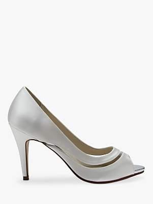 61f9438326 Rainbow Club Elosia Open Toe Court Shoes, Ivory
