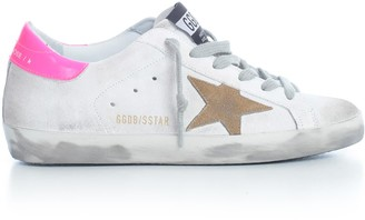 Golden Goose Sneakers Superstar Leather White Pink