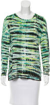Proenza Schouler Tie-Dye Print Knit T-Shirt