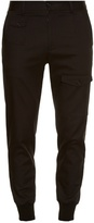 Dolce & Gabbana Pocket-detail stretch-cotton twill track pants