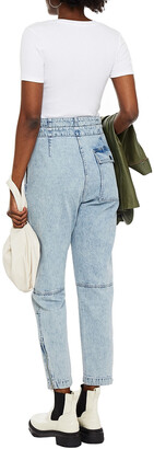 Rag & Bone Cropped High-rise Tapered Jeans