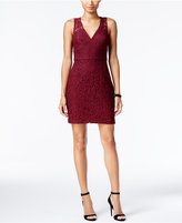 BCBGeneration Lace V-Neck Sheath Dress