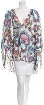 Just Cavalli Printed Sleeveless Top