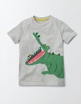 Boden Animal Appliqué T-Shirt