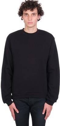 John Elliott Sweatshirt In Black Cotton