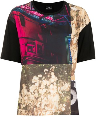 Paul Smith Photographic-Print Modal T-Shirt