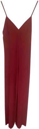 Norma Kamali Red Polyester Jumpsuits