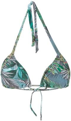 Lygia & Nanny Kuta printed bikini top