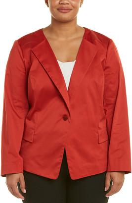 Lafayette 148 New York Plus Janelle Jacket