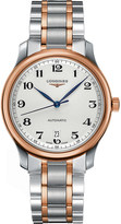 Longines L2.628.5.79.7 Master Collection stainless steel and rose gold watch