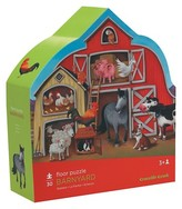 Crocodile Creek Barnyard Shapped Floor Puzzle