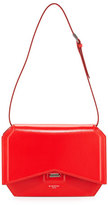 Givenchy Bow-Cut Leather Shoulder Bag, Red