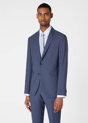Paul Smith The Kensington - Men's Slim-Fit Slate Grey 'A Suit To Travel In'