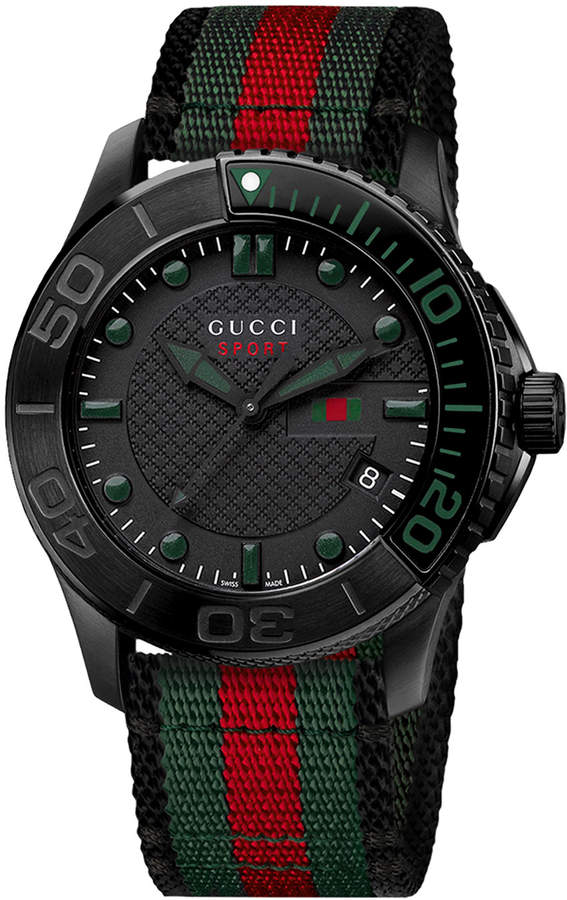 Gucci 44mm G-Timeless XL Men's Chronograph Sport Watch, Multi