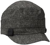 D&Y Women's Basic Tweed Cadet Hat
