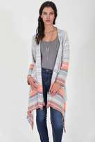 Goddis Naples Wrap Sweater - Sunset