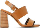Dune Jinx leather heeled sandals