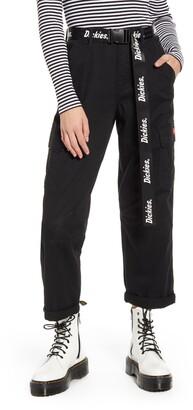 Dickies Belted Crop Utility Cargo Pants