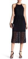 Romeo & Juliet Couture Crochet Midi Dress