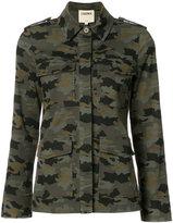 L'Agence camouflage jacket