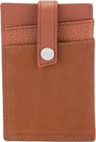 WANT Les Essentiels Kennedy money clip wallet - men - Leather/Suede/metal - One Size