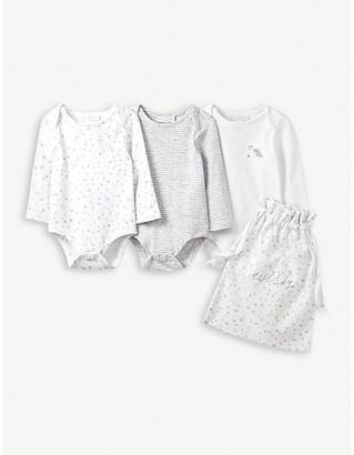 The Little White Company Bodysuit gift set of 3