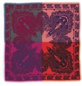 Etro Women's Colorblock Paisley Silk Scarf