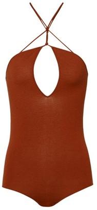 Bottega Veneta Halterneck Bodysuit