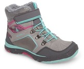Merrell Girl's Moab Fst Polar Mid Waterproof Insulated Sneaker Boot