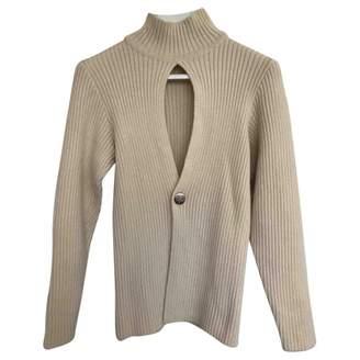 Dirk Bikkembergs Ecru Wool Knitwear for Women