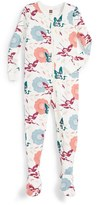 Tea Collection Infant Girl's Tanka Fitted One-Piece Pajamas