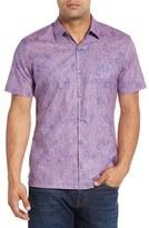 Men's Tori Richard Plantains Regular Fit Camp Shirt