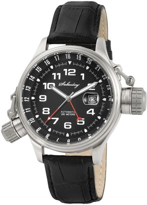 Stolzenberg Men's Automatic Watch ST2100290002 with Leather Strap