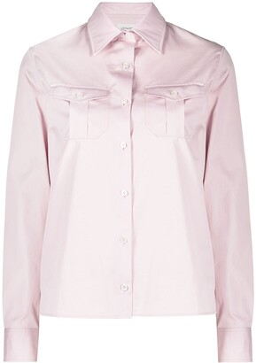 Lemaire Flap Pockets Buttoned Shirt