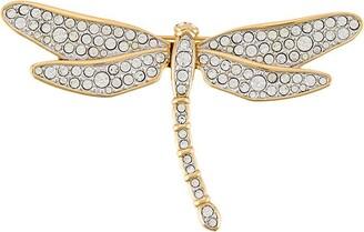 Susan Caplan Vintage 1990s Swarovski Dragonfly brooch