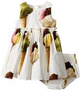 Dolce & Gabbana Gelato Poplin Dress (Infant)