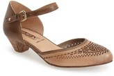 PIKOLINOS Women's 'Elba' Perforated Leather Ankle Strap Sandal