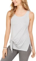 Style&Co. Style & Co Tie-Front Sleeveless Top, Created for Macy's