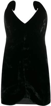 ATTICO structured bodice mini dress