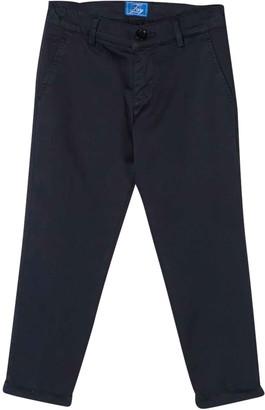 Fay Blue Teen Chino Slim Trousers