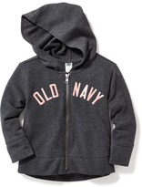 Old Navy Logo-Graphic Fleece Hoodie for Toddler Girls