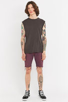 Urban Renewal Vintage Customised Raw Cut Levi's Plum Denim Shorts
