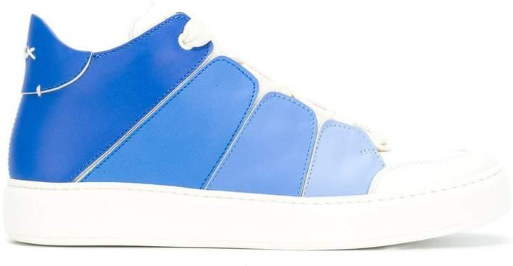 Ermenegildo Zegna Tiziano Rainbow sneakers
