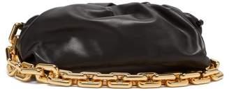 Bottega Veneta The Pouch Chain-strap Leather Clutch - Womens - Black