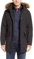 Cole Haan Men's 3-In-1 Anorak With Removable Liner & Faux Fur Hood