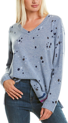 LISA TODD Spin Art Cashmere Sweater