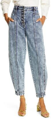 Ulla Johnson Brodie Taper Ankle Jeans