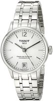 Tissot Men's T0992071103700 Analog Display Swiss Automatic Silver Watch