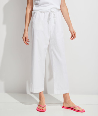 Vineyard Vines Wide-Leg Linen Pull-On Pants
