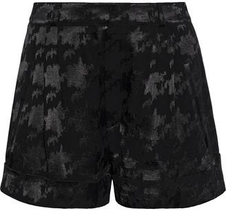 BA&SH Erell Houndstooth Jacquard Shorts